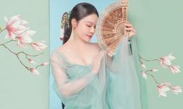 Nhật Kim Anh đẹp như từ trong tranh bước ra với tạo hình cổ trang