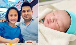 Diễn viên Cao Ngọc Xuân sinh con cho chồng Ấn Độ: Thiên thần nhỏ vô cùng bụ bẫm, đáng yêu