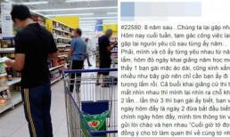 Gặp người yêu cũ đi cùng chồng con ở siêu thị, anh chàng được khen cư xử đáng mặt đàn ông