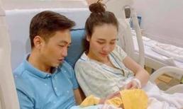 Đàm Thu Trang khoe ảnh gia đình hạnh phúc bên Cường Đô La, nhưng vẫn chưa chịu công khai diện mạo công chúa nhỏ