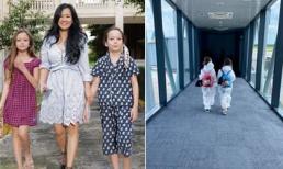 Diva Hồng Nhung và hai con song sinh rời nơi cách ly tập trung, bắt đầu cuộc sống bình thường mới