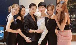 Lan Ngọc - Ngô Thanh Vân và hội toàn mỹ nhân Vbiz tụ họp mừng sinh nhật Xuân Lan