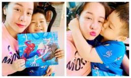Khoe ảnh hạnh phúc bên con trai trong ngày sinh nhật, Nhật Kim Anh tiết lộ vẫn chưa được ở cùng con