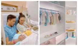 Cường Đô La khoe gian phòng của con gái mới chào đời chẳng khác gì cửa hiệu thời trang