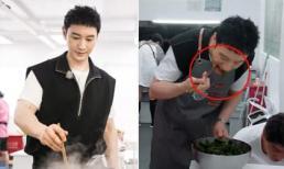 Huỳnh Hiểu Minh bị chê mất vệ sinh khi nấu ăn vì thói quen tưởng như vô hại