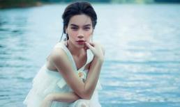 Dù bầu bí, Hồ Ngọc Hà vẫn mạo hiểm xuống hồ thực hiện bộ ảnh đẹp mê hồn