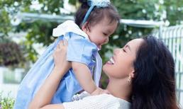 Ca sĩ Ngọc Anh chính thức khoe hình ảnh ngọt ngào bên công chúa thứ hai xinh như búp bê