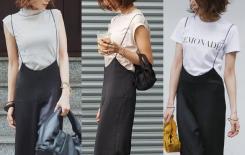 Làm sao để phụ nữ trung niên bụng to trông gầy khi mặc quần áo? Nhìn các blogger Nhật mặc thế này, nhẹ nhàng và che khuyết điểm