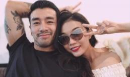 Em gái Á hậu Hoàng Thùy đăng ảnh tình tứ bên bạn trai Việt kiều 'cực phẩm'