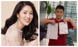 Lê Phương tổ chức sinh nhật cho con trai tròn 8 tuổi, Quách Ngọc Ngoan cũng có động thái tình cảm