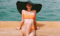 Lần hiếm hoi Phạm Quỳnh Anh diện bikini, khoe sắc vóc nóng bỏng