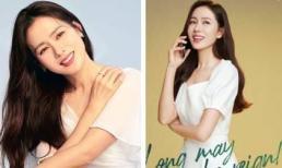 Muốn làm cô dâu lắm rồi nên Son Ye Jin mới nghiện màu trắng như thế này