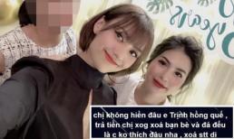 'Chị chị em em' thân thiết là thế nhưng vợ cũ Lê Việt Anh bất ngờ bị Hồng Quế đá đểu, xóa bạn bè trên facebook