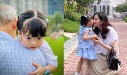 Chỉ 1 câu nói, con gái hơn 2 tuổi đã khiến Hoa hậu Đặng Thu Thảo 'rụng tim'