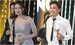 Hồng Diễm - Xuân Nghị chiến thắng ngoạn mục tại VTV Awards 2020, rơi nước mắt trên bục nhận giải