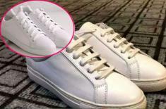 Vết ố vàng trên giày trắng rất khó làm sạch? Hướng dẫn bạn 4 cách dễ dàng để giày ố vàng thành trắng tinh như mới