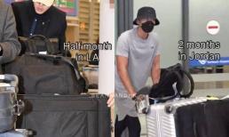 So sánh ảnh sân bay của Hyun Bin hôm nay và 1 năm trước, dân mạng có phát hiện cực đáng yêu liên quan đến Son Ye Jin