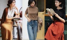 """Quần jeans đã hoàn toàn """"thất sủng"""" kiểu collocation đang được yêu thích trong mùa thu năm nay"""