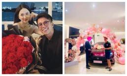 Đúng chuẩn bạn trai nhà người ta, Matt Liu chi mạnh tay tặng siêu xe cho Hương Giang