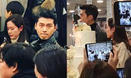 Xôn xao hình ảnh Hyun Bin - Son Ye Jin xuất hiện cạnh nhau trong tiệc cưới, chàng và nàng kè kè không rời?