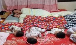 Bức ảnh 'con gái là con mình sinh ra, con trai coi như nhặt được' của bà mẹ Trung Quốc gây bão mạng