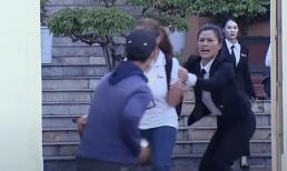 'Lựa chọn số phận' tập 64: Phó Chánh án Dung bị tạt axit kinh hoàng ngay cổng Tòa án