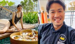 Tái hợp không lâu, Linh Rin được khen gợi cảm, Phillip Nguyễn ngày càng tăng cân
