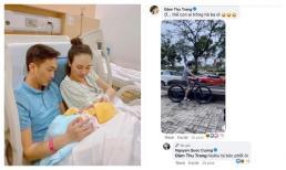 Cường Đô La khoe ở nhà chăm con cho vợ đi chơi, Đàm Thu Trang lập tức 'bóc phốt' khiến ai nấy cười xỉu