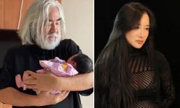 Tiêt lộ hình ảnh con gái mới sinh của 'ông trùm' U70 phim võ hiệp Kim Dung