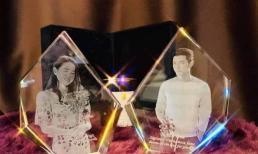 Fan Việt chịu chơi đặt cặp quà thủy tinh 3D mừng sinh nhật Hyun Bin