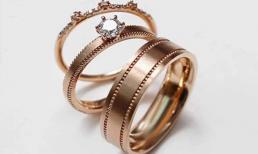 Xu hướng nhẫn cưới hot nhất năm