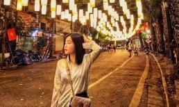 Phố đèn lồng Phùng Hưng trở thành thiên đường check-in của giới trẻ dịp Trung thu này