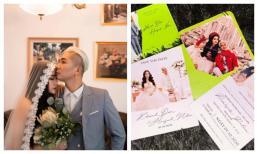 Vợ chồng Khánh Đơn đăng ảnh cưới lung linh, tiết lộ chi tiết về hôn lễ