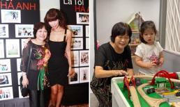 Hà Anh tiết lộ sự tân tiến của mẹ trong cách dạy các con gái lúc còn nhỏ