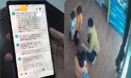 Hé lộ nội dung tin nhắn xin lỗi của phụ huynh đánh cháu bé mầm non ở Lào Cai