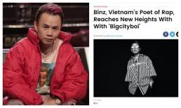 Binz được Billboard - Mỹ vinh danh là 'nhà thơ Rap của Việt Nam'