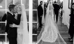 Justin Bieber đăng ảnh kỷ niệm ngày cưới như 'soái ca ngôn tình' khiến hàng vạn cô gái ghen tị với Hailey