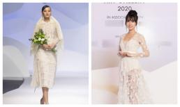 Lynk Lee hóa cô dâu với váy xuyên thấu xẻ sâu, Lê Thúy trở lại sàn diễn sau 2 năm vắng bóng