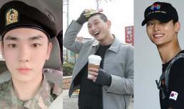 Key (SHINee), N (VIXX) và Jinwoon (2AM) chính thức xuất ngũ