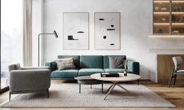 Làm thế nào để thiết kế đơn giản, mà vẫn đẹp và hiện đại khi diện tích phòng nhỏ hẹp?