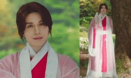 'Thần chết' điển trai Lee Dong Wook diện cây hồng 'trổ bóng' trong phim mới khiến fan hết hồn