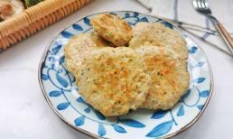Đừng luộc ức gà, hãy biến nó thành những chiếc bánh nhỏ, ít béo để bữa sáng thật trọn vẹn!