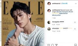 Vừa lên bìa tạp chí Elle, Soobin Hoàng Sơn lại được Giám đốc nghệ thuật của Louis Vuitton nhắc tên trên Instagram