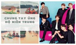Sau một đêm, fan BTS tại Việt Nam quyên gần 400 triệu cho đồng bào miền Trung