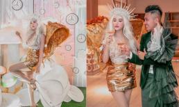 Vợ chồng Minh Nhựa tổ chức tiệc kỷ niệm ngày cưới 'đơn giản' nhưng nhìn trang phục dân tình lại đoán ngược