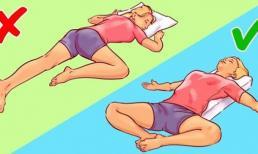 6 tư thế giúp bạn chìm vào giấc ngủ ngay lập tức