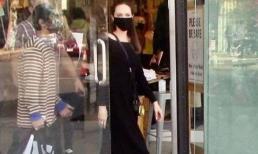 Con trai nuôi gốc Việt ra dáng khi hộ tống Angelina Jolie xuống phố