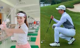 Trọng Hưng đăng ảnh ra sân golf, dân mạng hỏi khéo: 'Có gặp cô giáo ở đó không?'