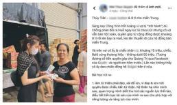 Nữ MC bị chỉ trích vì đăng status mỉa mai, 'bóc giá' đồ Thuỷ Tiên mặc khi cứu trợ miền Trung