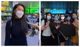 Thuỷ Tiên đáp chuyến bay về TP. HCM sau 6 ngày cứu trợ miền Trung, fan xếp hàng chờ đợi